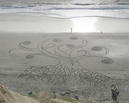 Andres Amador Sand Paintings