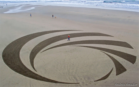 Andres Amador Sand Painting