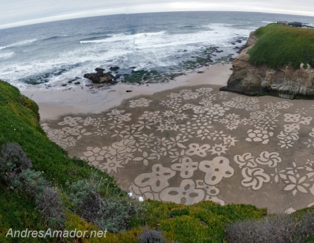 Painting in the Sand