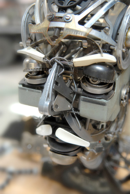 Typewriter Assemblage