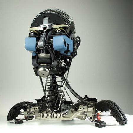 Jeremy Mayer Typewriter Sculptures