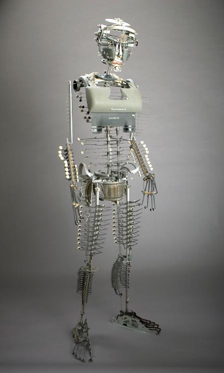 Jeremy Mayer Typewriter Robots