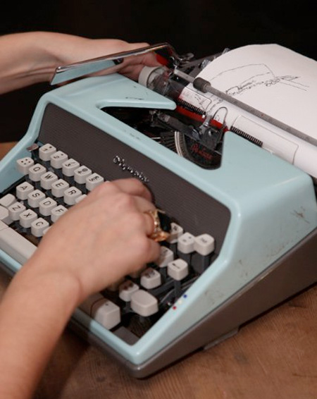Keira Rathbone Typewriter