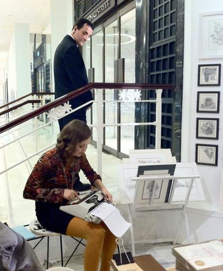 Keira Rathbone Typewriter Artist