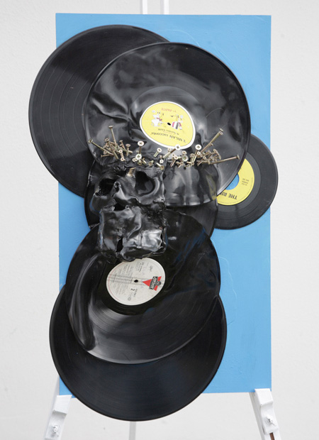 Vinyl Sculpture by L017