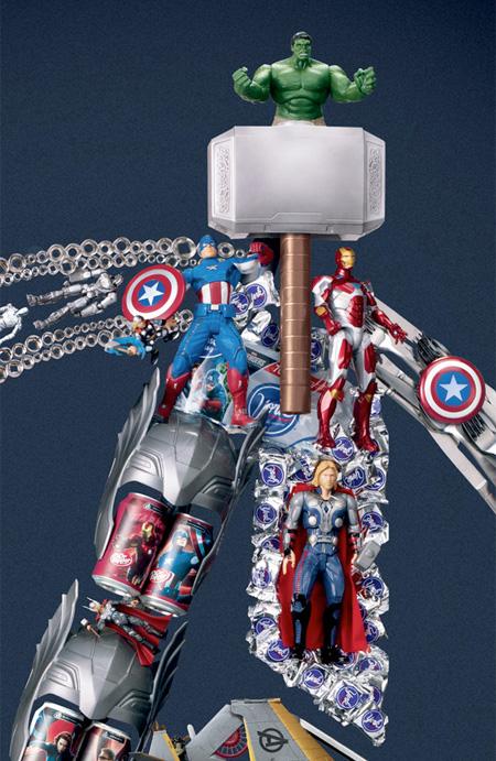 Avengers Assemble at Target