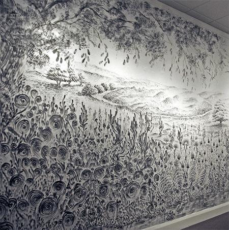 Finger Drawing by Judith Braun