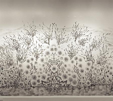 Fingertip Paintings by Judith Braun