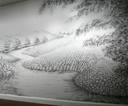 Fingerprint Paintings by Judith Braun