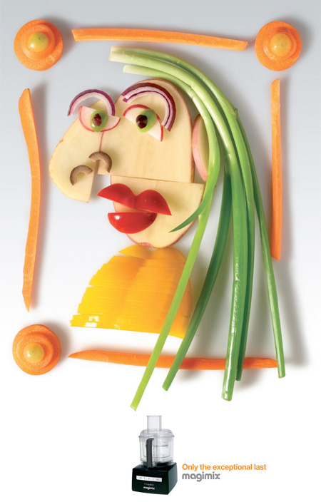 Picasso Made of Food