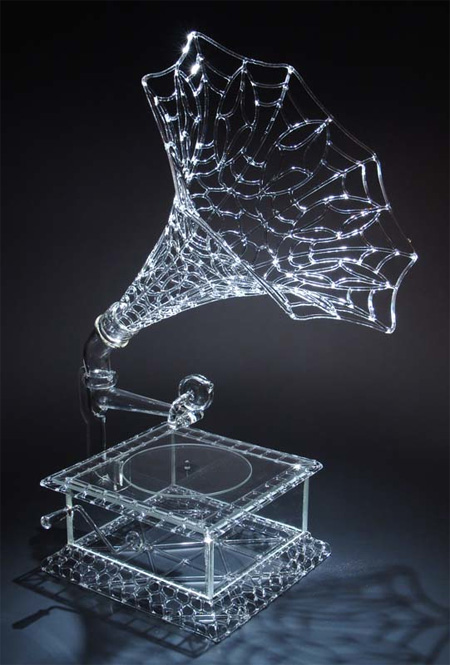 Glass Sculptures by Robert Mickelsen
