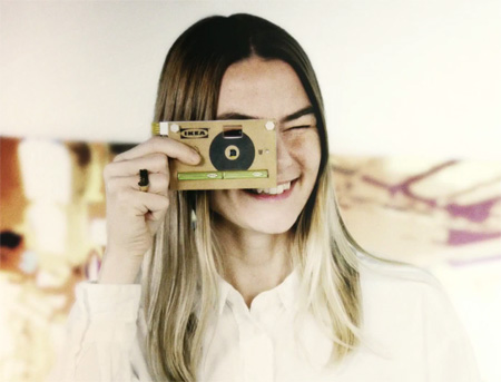 Cardboard Camera from IKEA