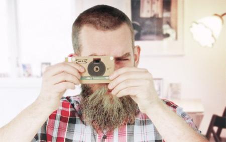 Camera Made of Cardboard