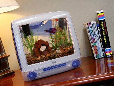 Imac aquariums for Create your own fish