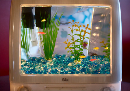 iMac Aquariums by Jake Harms