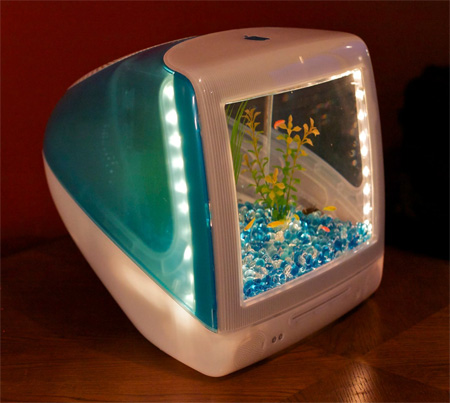 iMac Aquarium by Jake Harms