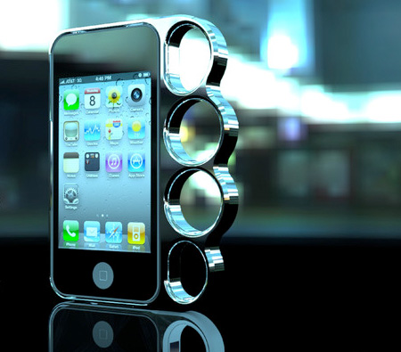 Knuckle iPhone Case