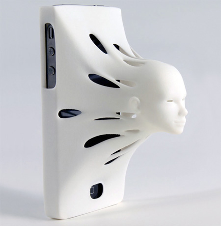 3D Face iPhone Case