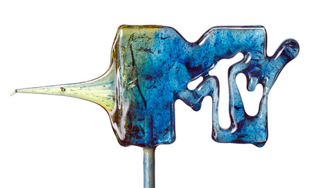 MTV Logo Lollipop