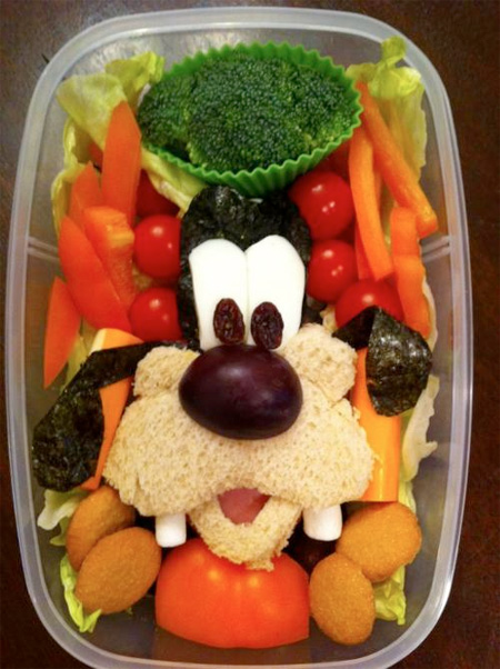 Goofy Food Art