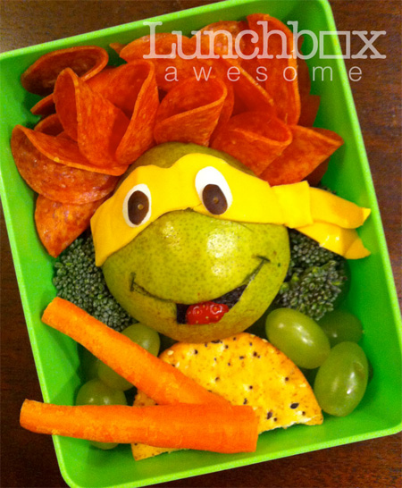 Ninja Turtles Food Art