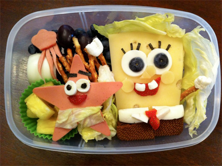 SpongeBob SquarePants Food Art