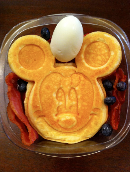 Mickey Mouse Food Art