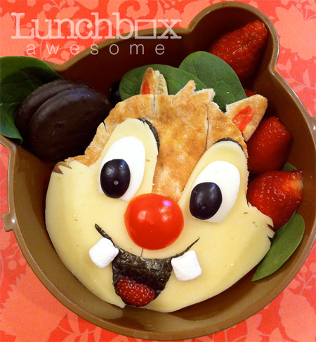 Chip and Dale Food Art