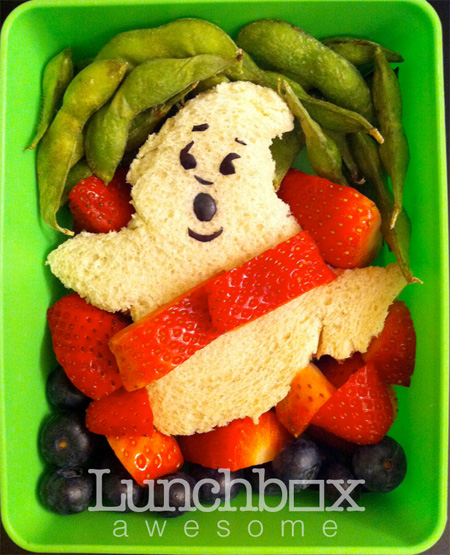 Ghostbusters Food Art