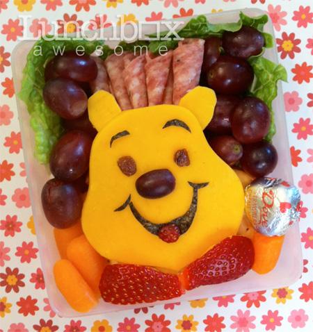 Winnie the Pooh Food Art