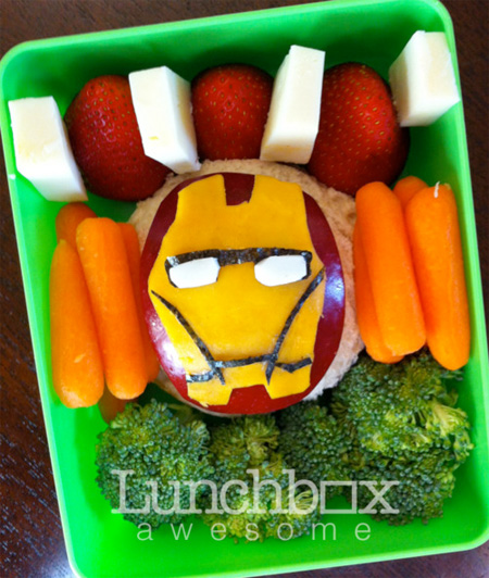 Iron Man Food Art