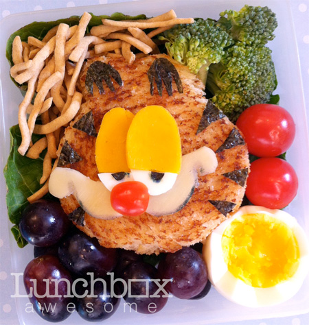 Garfield Food Art