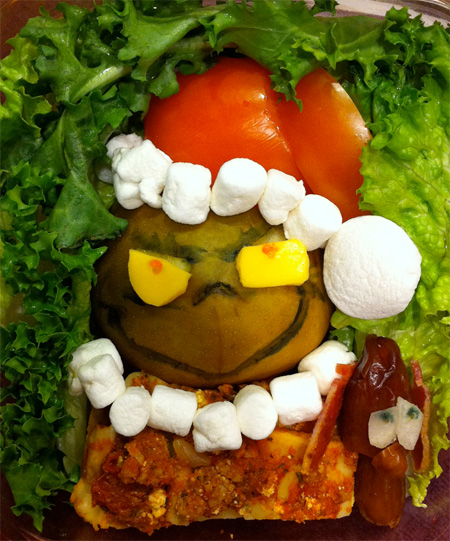 Grinch Food Art