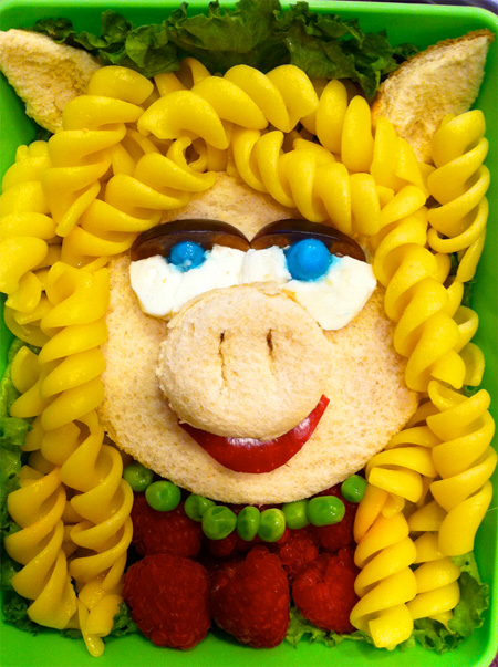 Miss Piggy Food Art