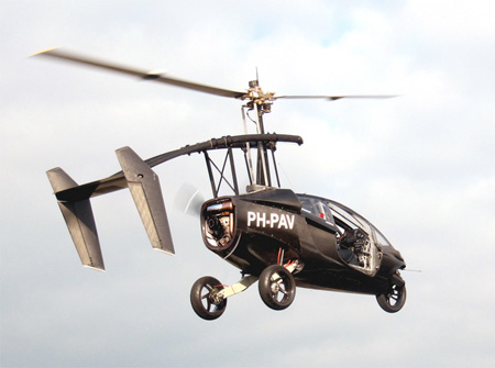 PAL-V Helicopter Car