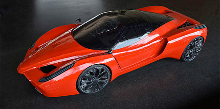 Pedal Powered Ferrari