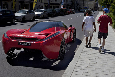 Human Powered Ferrari