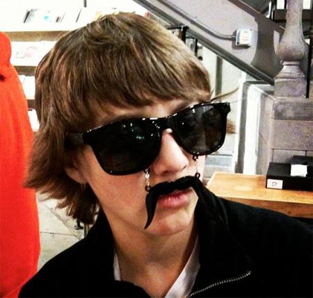 Moustache Sunglasses