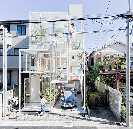 Transparent House by Sou Fujimoto Architects