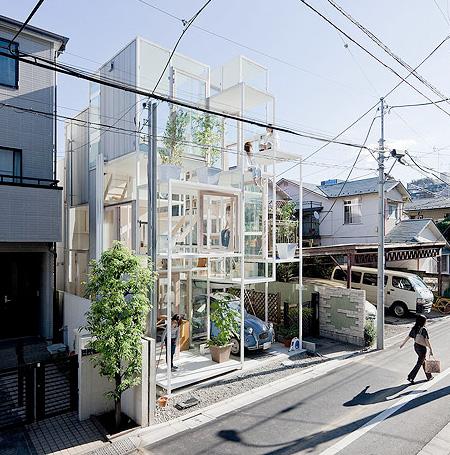 Transparent House by Sou Fujimoto