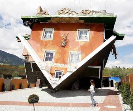 Upside Down House by Irek Glowacki and Marek Rozanski
