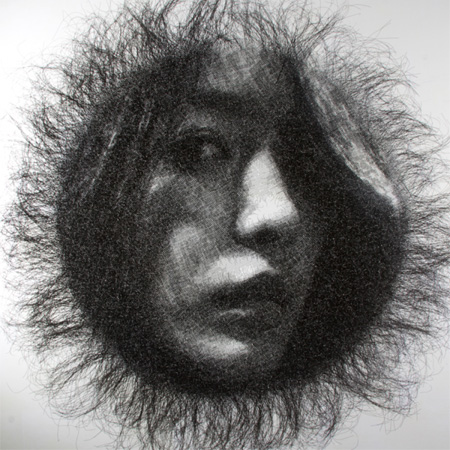 Wire Portraits by Seung Mo Park