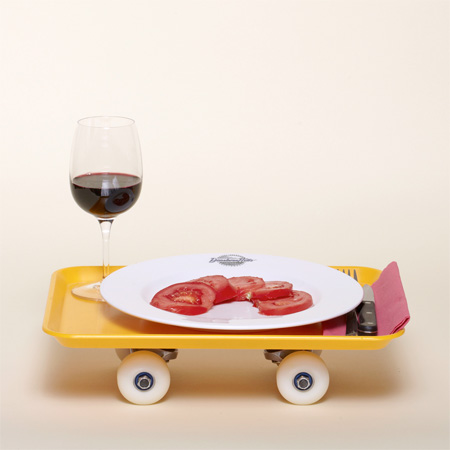 Food Tray Skateboard