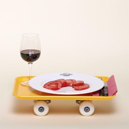 Food Tray Skateboard