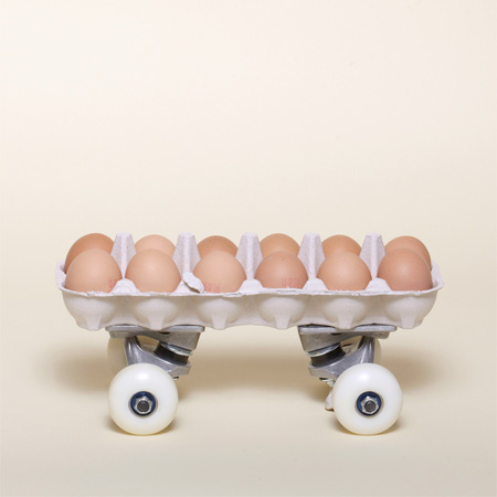 Egg Carton Skateboard