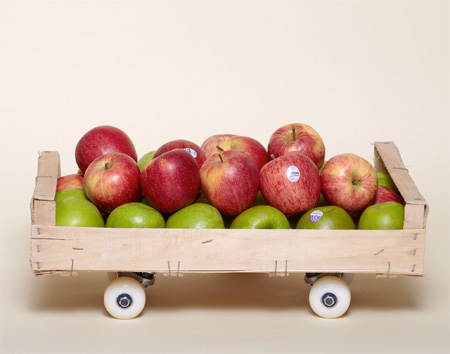 Apple Crate Skateboard