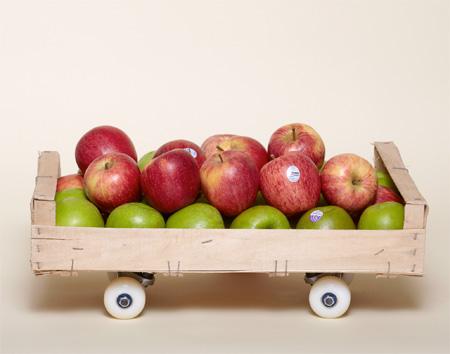Apple Crate Skateboard