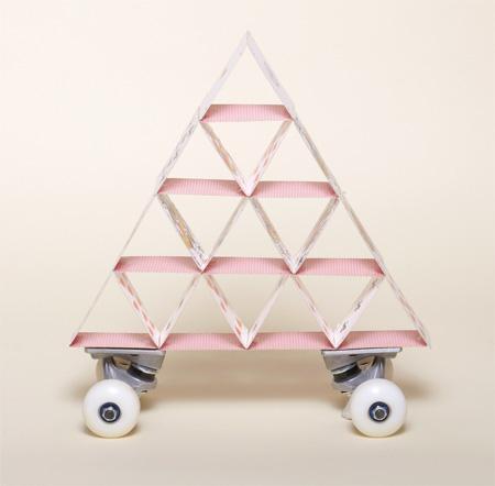 Stack of Cards Skateboard