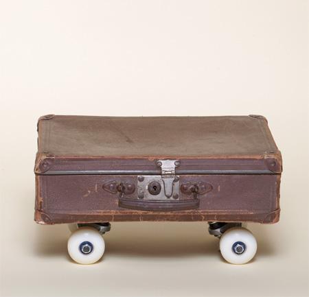 Briefcase Skateboard