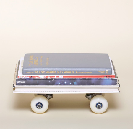 Stack of Books Skateboard